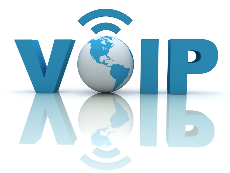 Infografik VoIP - Voice-over-IP